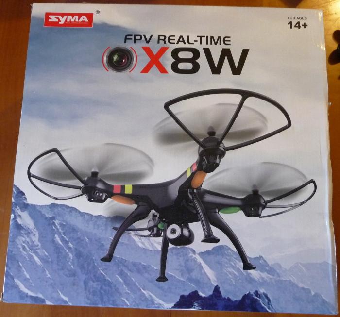 Syma X8W
