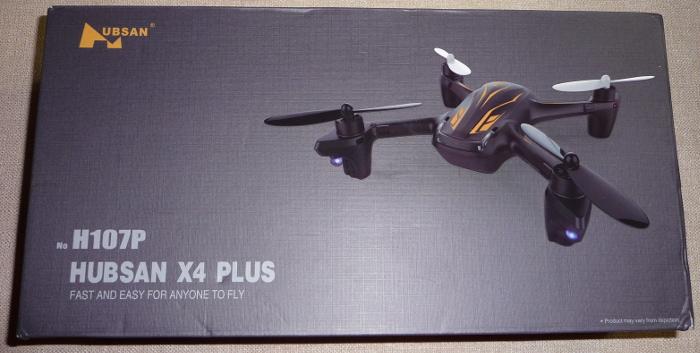 Hubsan H107P X4 Plus