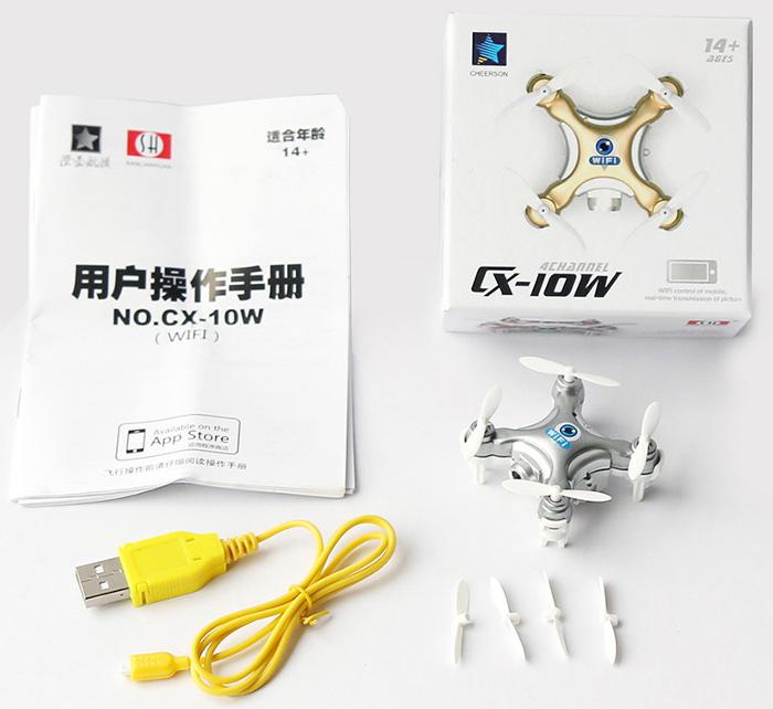 Cheerson CX-10W Mini Wifi FPV