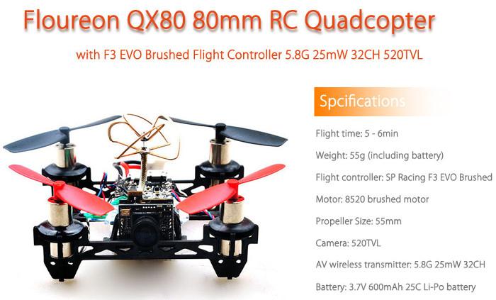 Floureon QX80