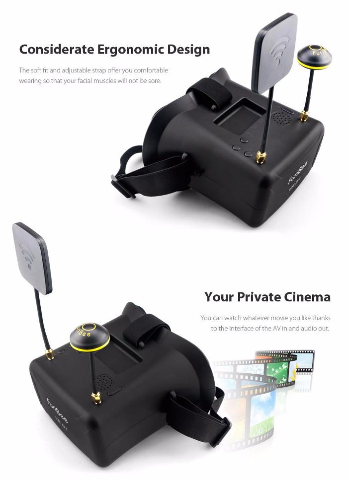 FuriBee VR01 FPV Goggles